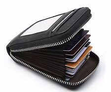 Petit Portefeuille en Cuir Véritable Poche Porte-monnaie Porte-cartes SAC à Main