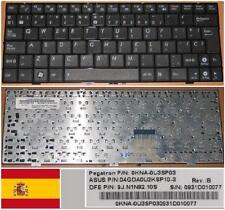 Qwerty Keyboard Spanish ASUS EEEPC 1000HE 9J.N1N82.10S 0KNA-0U3SP03 9J.N1N82.10S