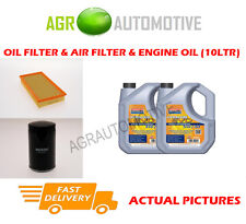 PETROL OIL AIR FILTER KIT + LL 5W30 OIL FOR JAGUAR S-TYPE 2.5 200 BHP 2001-08