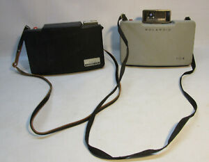 Vintage Polaroid 104 & 360 Instant Camera Lot