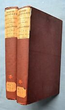 GLOSSARY OF WORDS IN WORKS OF ENGLISH AUTHORS: NARES 1888 HC 2 VOLS. SHAKESPEARE