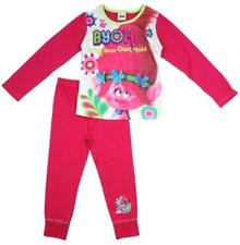 Troll Cotton Girls' Sleepwear Pyjama Sets