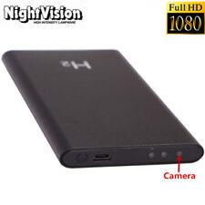 HD 1080P DVR Hidden SPY Camera Power Bank Night Vision Video Recorder Cam Black