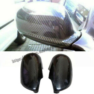 For Nissan GTR R33 high quality Real carbon fiber Look Side Door Mirror Cover 2X