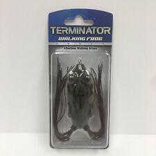 Terminator Walking Frog TWF3304 03 Hot Mud Camouflage Fishing Lure NOS
