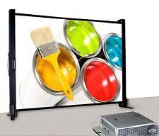 """Schermo Proiezione da tavolo richiudibile 40"""" 81x61 cm, Telo da Videoproiettore"""