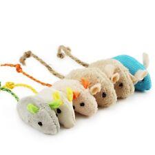6pcs lot Mix Pet Toy Catnip Mice Cats Toys Fun Plush Mouse Rat Toy For Kitten