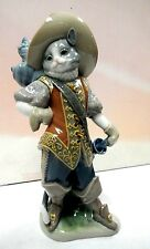 PUSS IN BOOTS CAT FIGURINE 2011 BY LLADRO #8599