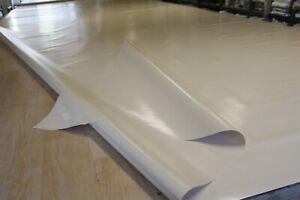 5,00€/m² Lkw Plane Abdeckplane1400g/m² weiß Schaumbeschichtet 3mm Wasserrutsche