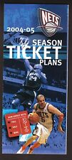 2004-05 New Jersey Nets Season Ticket Brochure--Jason Kidd/Richard Jefferson