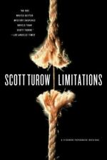SIGNED Limitations by Scott Turow (2006, Paperback) LIKE NEW Condition