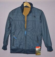 The North Face Boys Yukon Reversible Jacket cosmic blue isolierte M Neu $110