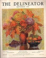 1926 Delineator September - I owe what I am to women; Zona Gale; Raw Vegetables