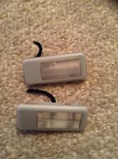 2 X BMW 3 series E46 Saloon / Coupe Interior Vanity Sunvisor Lights 1998-2005