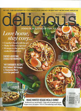 DELICIOUS MAGAZINE JANUARY 2018 FOOD MAGAZINE OF THE YEAR,WEAR & TEAR ON SPINE