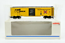 MARKLIN HO SCALE 4773 TIN RAILBOX BOXCAR #14441 WHITE BOX