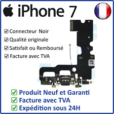 IPHONE 7 NOIR - NAPPE DOCK FLEX CONNECTEUR DE CHARGE USB MICRO ET ANTENNE GSM