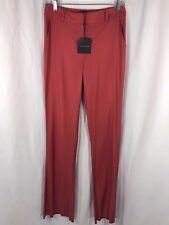 St John Womens Red Cinnabar Pants 2 NWT Orig $495