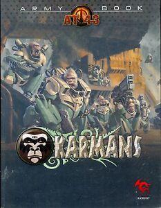 RACKHAM AT-43 ARMY BOOK KARMANS