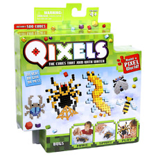 New Qixels Bugs 500 Cubes Refill Pack 4 Design Templates Official