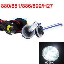 HID 2x Bolt AC Bulbs Set Xenon 880 881 894 H27 6000K Diamond White Light CL