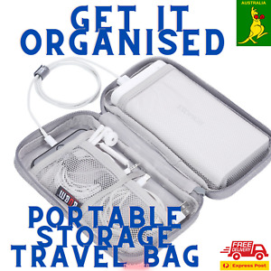 phone charger, cables and   USB flash drive ETC   storage bag great for holidays