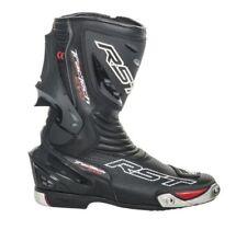 Stivali traspirante nero approvato CE per motociclista