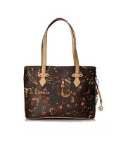 BORSA PIERO GUIDI MAGIC CIRCUS TOTE BAG WITH ZIP 2145W4088 02 MARRONE