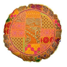 Home Decor Indian Footstool Pouf Cover Ethnic Cushion Cover Beautiful Handmade