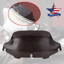"""Light Smoke 8"""" Windshield Windscreen for Harley FLHT FLHTC FLHX Touring 96-13 US"""