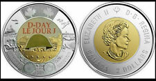2019 Canada 2 Dollars 2$ THE 75TH ANNIVERSARY OF D-DAY COIN WITH THE CASE