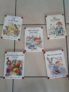 lot 5 livres MAX et LILI - Ainsi va la vie