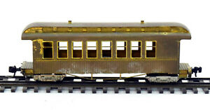 HOn3 Brass Narrow Gauge Open Vestibule 8 Window Coach