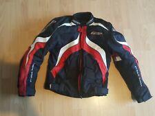 RST Razor Motorcycle Red White Black Jacket Size Small