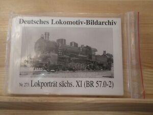 Postkartenserie Deutsches Lokomotiv- Bildarchiv 15 Stück Nr. 273 Baureihe 57.0-2