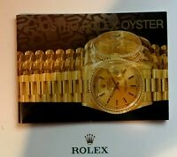 ♛ IL VOSTRO ROLEX OYSTER in Italiano scegli la data Your Rolex Oyster