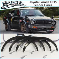 Toyota Corolla KE35 Fender Flares Set Wheel Arches Extension JDM Style KE35 TE37