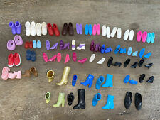 Large Lot Of Vintage Barbie And Friends Other Fashion Doll Shoes