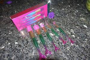 Tarte high performance naturals minutes to mermaid brush set new in box