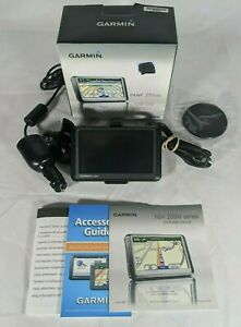 Garmin Nuvi 255W GPS System w/Car Charger & Window Suction Cup Bundle ☆ TESTED