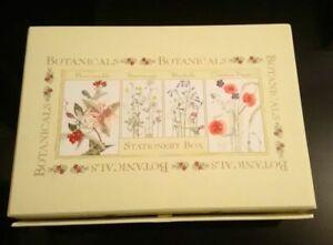 Botanicals stationary set writing paper notelets, envelopes