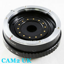 UK Stock Canon EOS EF Lens to Sony E mount NEX Build-in Aperture NEX 7 6 A6300