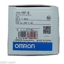 OMRON Time Switch H5F-B H5FB 100-240VAC Original New in Box NIB Free Ship