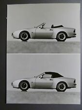 1985 Porsche 944 Cabriolet B&W Press Factory Issued Photo RARE!! Awesome L@@K