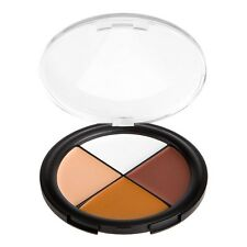 Coastal Scents Dark Camo Quad Concealer Corrector Wheel 4 Shades Skin Fix Cover