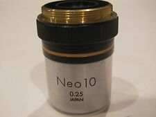 Olympus Neo 10x/0.25 Objective