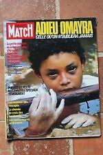 Paris Match 1905 Omayra Armero M. Hemingway Sagan 1985