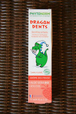 "Dentifrice Bio Enfant ""Dragons Dent"" Fraise/Organic Toothpaste, 75ml – PHYTONORM"