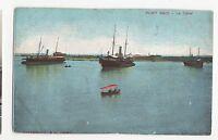 Egypt, Port Said, Le Canal Postcard, A566