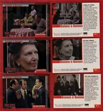 The SOPRANOS Business Is Business BOX LOADER 3 Card Set